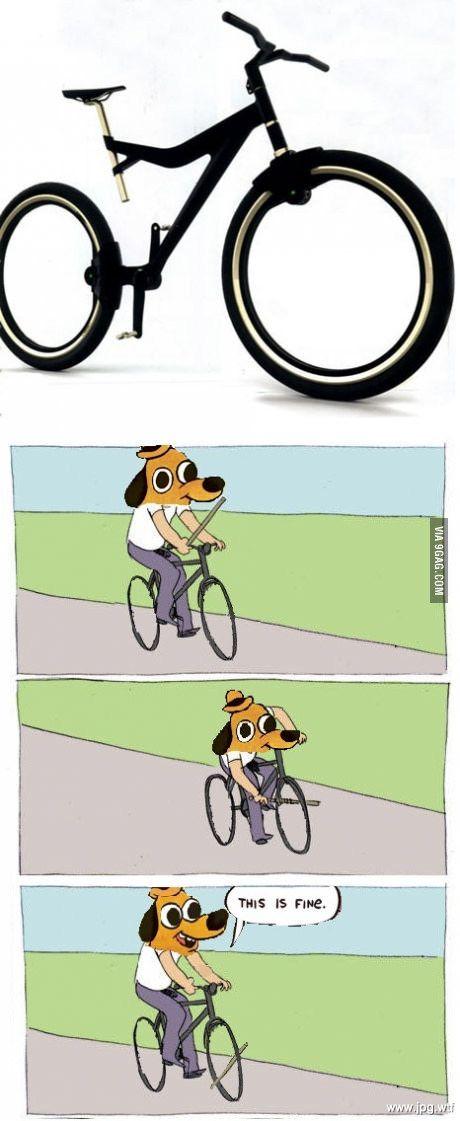 чмо на велосипеде