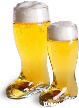 за пивом в сапогах