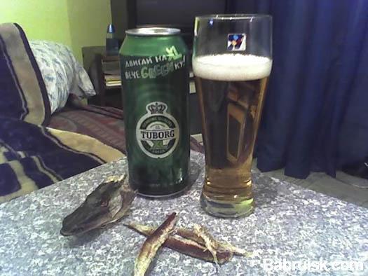пиво с рыбой
