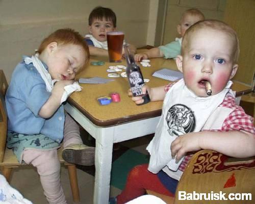 пьяные дети