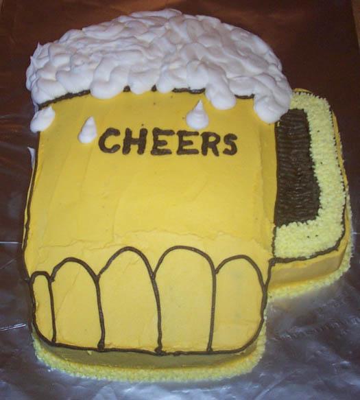 пивной торт