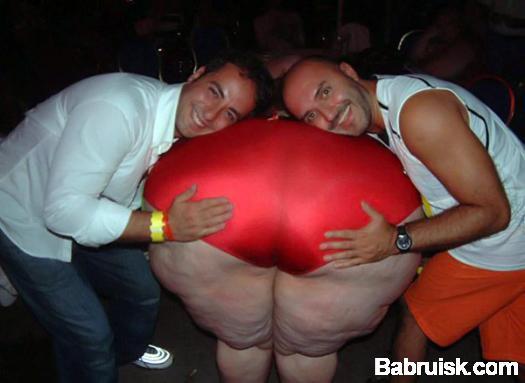 толстая жопа