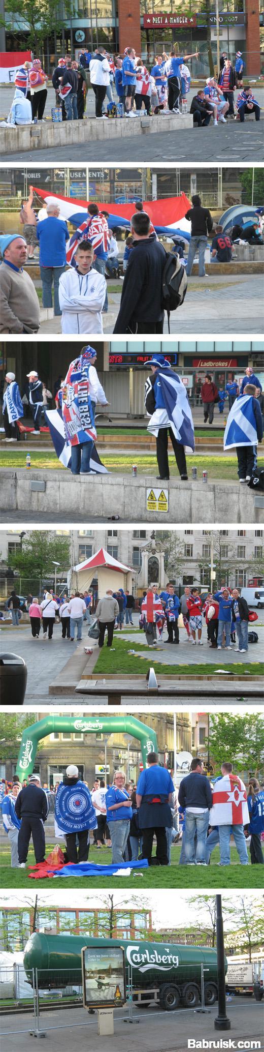 шотландцы в манчестере