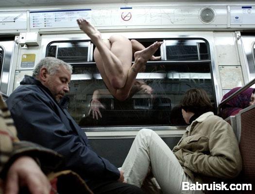 жопа в метро