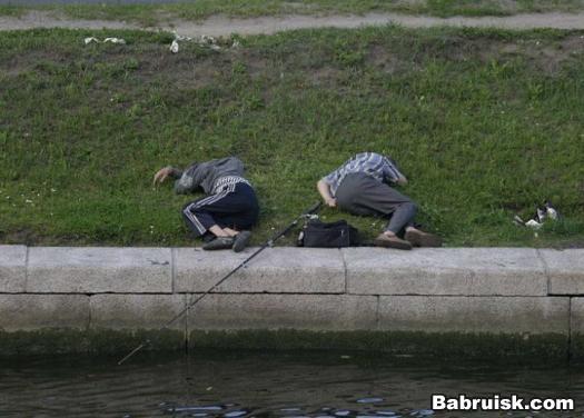 пьянка на рыбалке