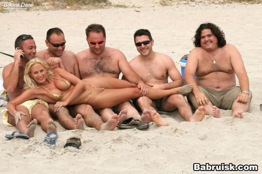 бикини пляж голые девки