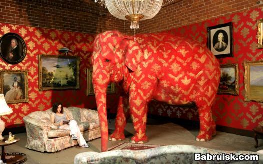 готичный слон