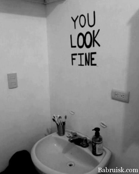 you look fine, yopt