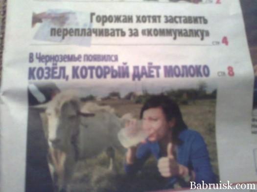ёбаный козёл