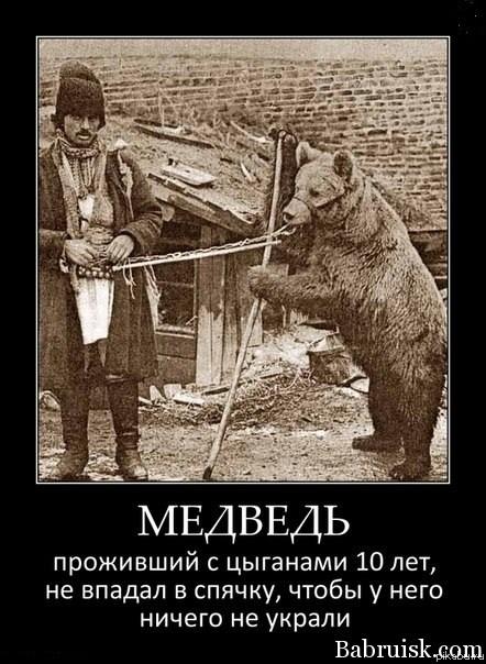 цыгане и медведь