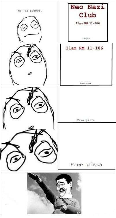 пицца для нацистов