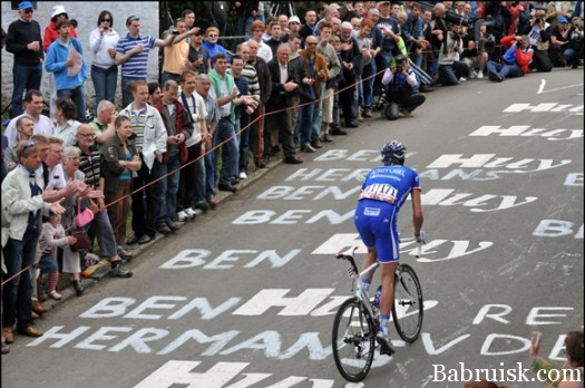 THE FLECHE WALLONNE