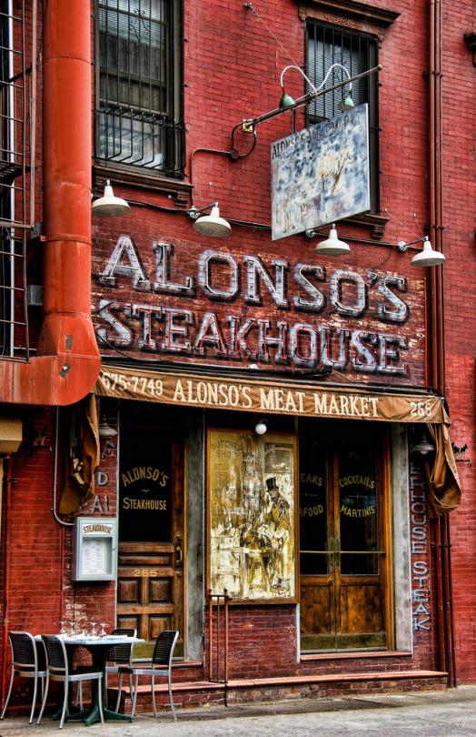ресторан алонсо