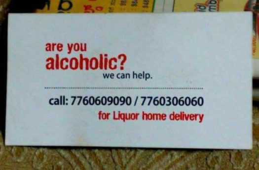 Is there any alcoholics?