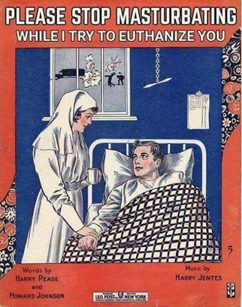 дрочим во время эвтаназии