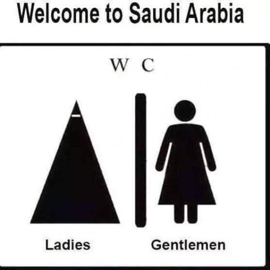 саудовская аравия туалет