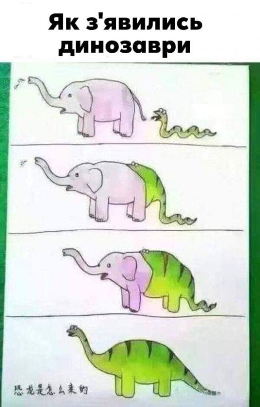 змея проглотила слона