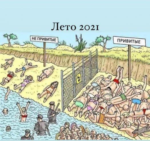 пляжи 2021