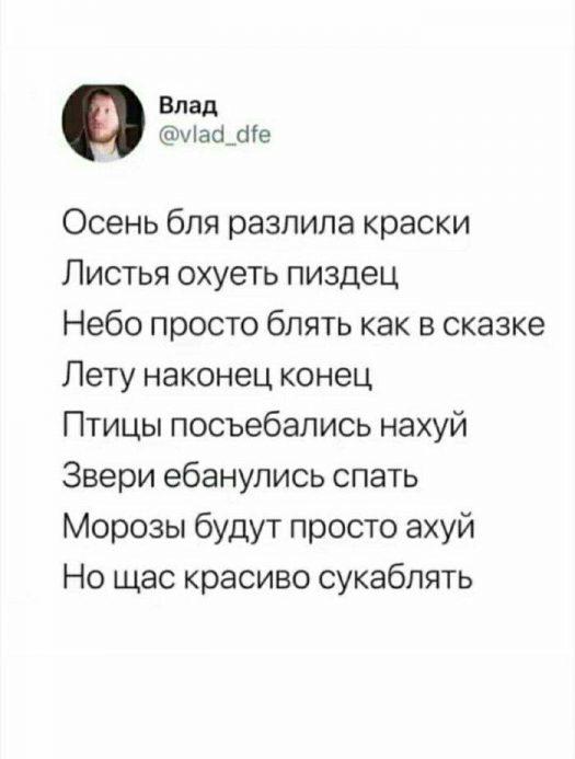 матерные стихи