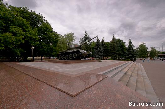 Танк в Бобруйске